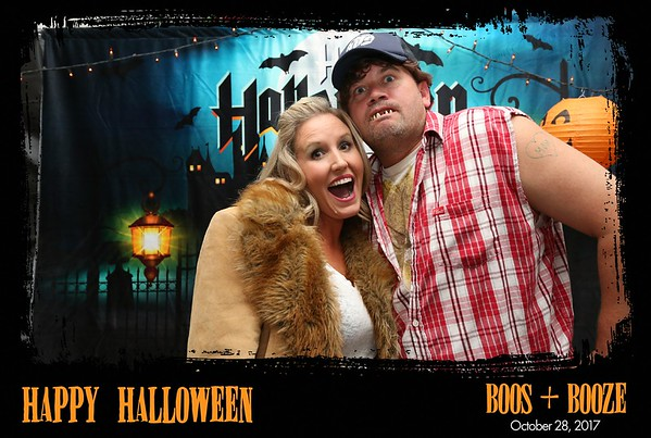 Boos + Booze Halloween Party