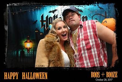 Boos + Booze Halloween Party