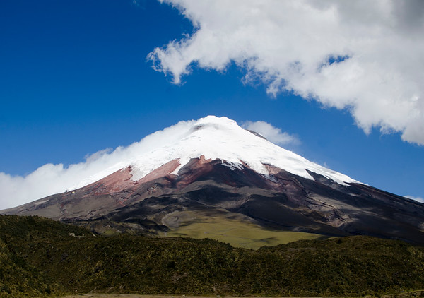 Stratovolcano Cotopaxi