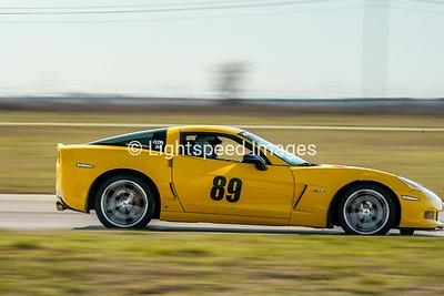 #89 Yellow C6 Z06 Corvette