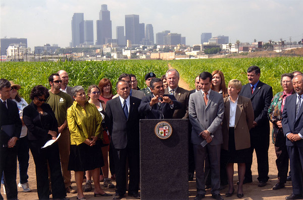 2005, Villaraigosa Speaking