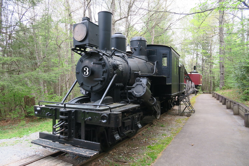 Forest Festival Trail -- Logging Train