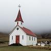 Beach town church - Vik