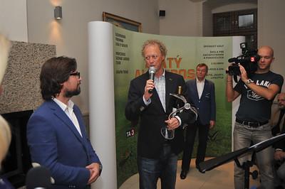 2012 OCENENIE ZLATÝ ALBATROS LEGEND COURSE AWARDED