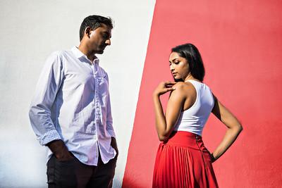 Divya & Vivek Engagement