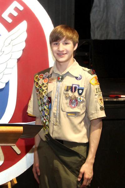 Eagle Scout Ceremony: Hudon, Hanks, Sullivan, Floam