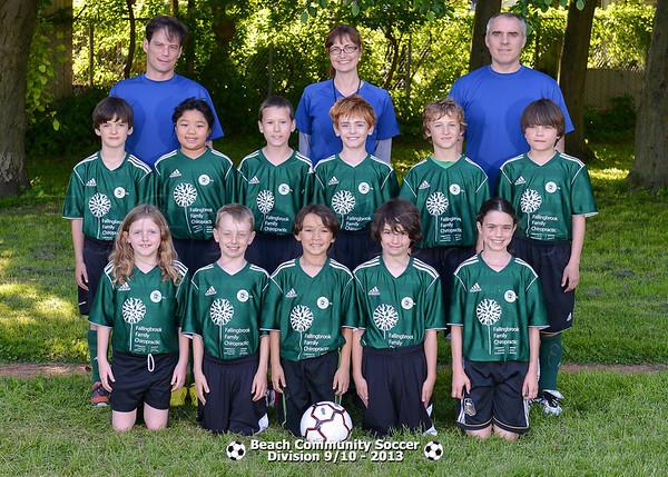 Division 9/10 - Team pictures