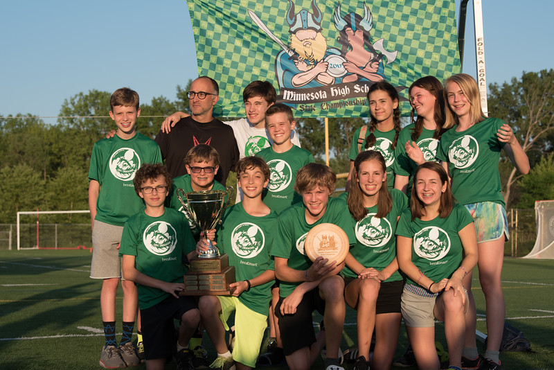 Middle School Ultimate Champs