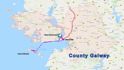 MAP - COUNTY GALWAY
