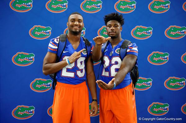 Florida Gators Fan Day 2016