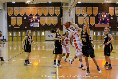 Girls Varsity Basketball vs Langley 1/27/17