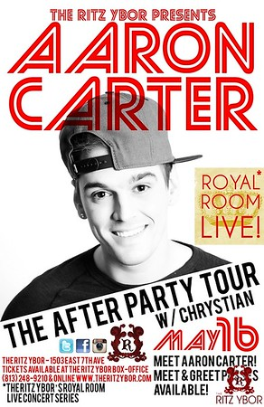 Aaron Carter May 16, 2013