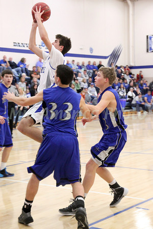 Boys Basketball, Holy Trinity vs Danville 12/14/2013