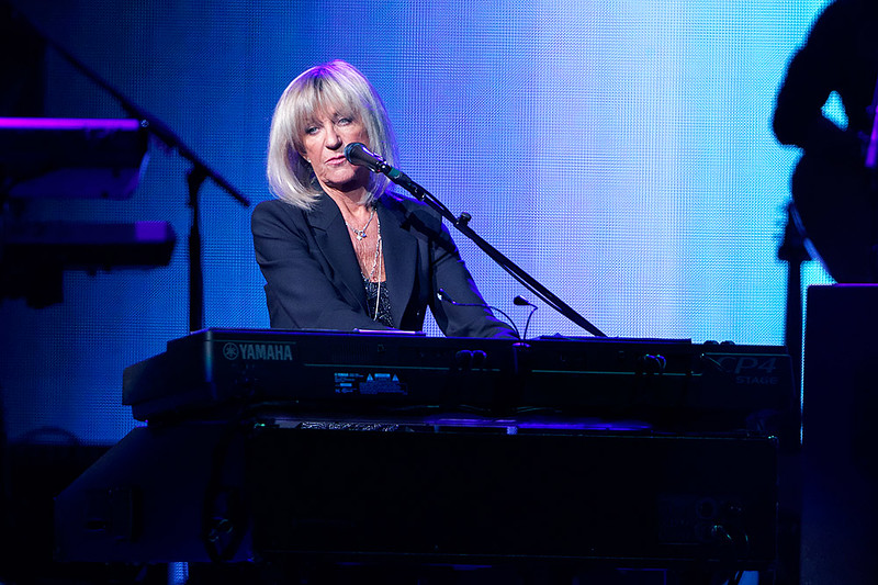 . Christine McVie plays piano on stage with Fleetwood Mac on Wednesday, Oct. 22, 2014, at The Palace of Auburn Hills. Photo by Ken Settle-Special to The Oakland Press