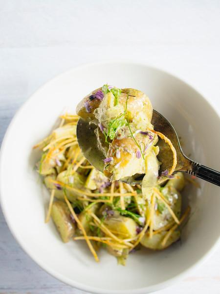 warm potato salad green garlic dressing-11.jpg