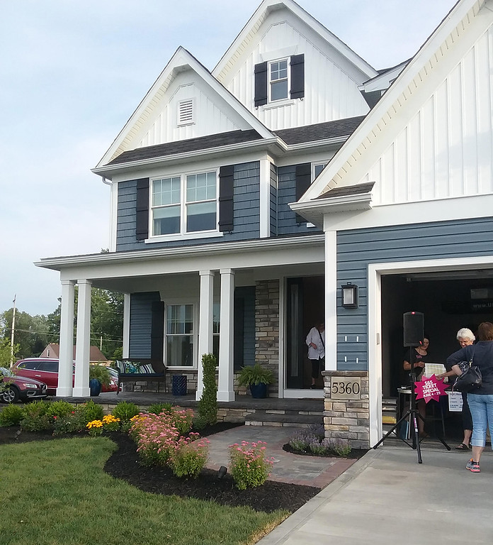 . The 25th Lake County YMCA Dream House is at 5360 Highland Way in Mentor\'s Lakeshore Highlands development. It\'s open for tours through Aug. 5. For more information, visit lakecountyymca.org/dream-house/2018-dream-house. (Jean Bonchak)
