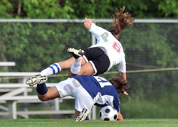 Girls varsity soccer - St. Johns vs Mason - District Semifinal