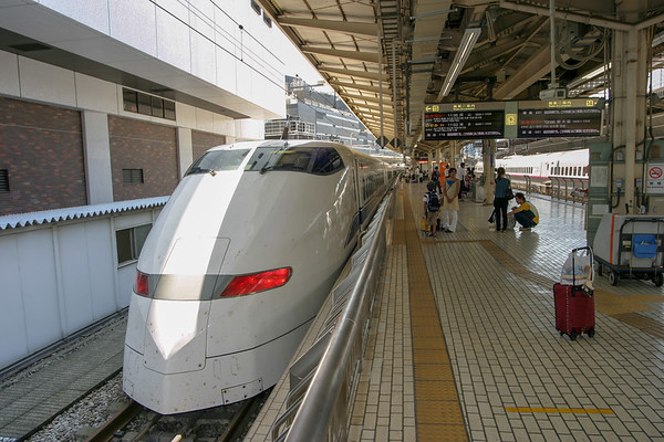 Japan Subway  Train - August 2007