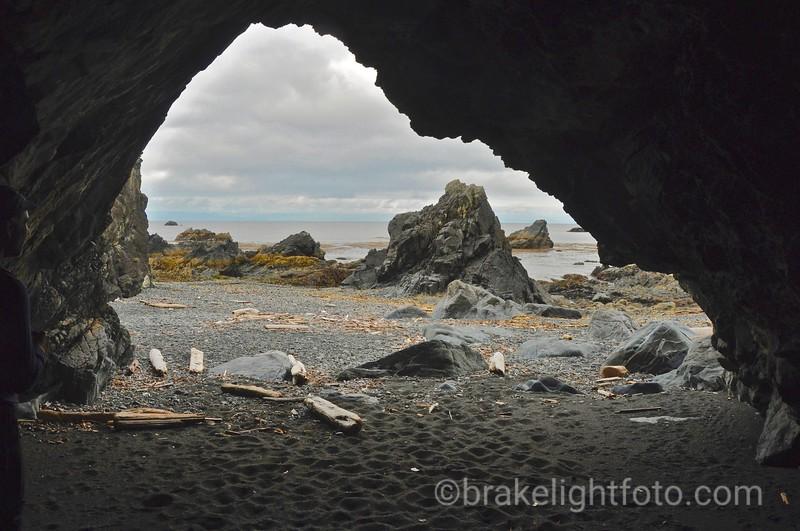 Sea Cave at Maquinna Point