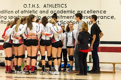 OTHS Varsity Volleyball January 2016