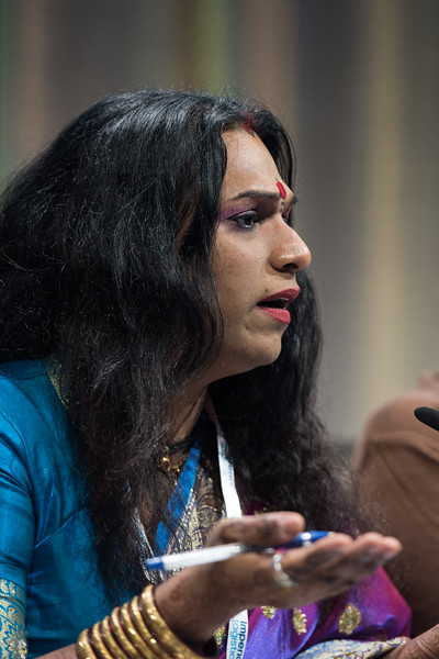22nd International AIDS Conference (AIDS 2018) Amsterdam, Netherlands   Copyright: Marcus Rose/IAS  Photo shows: STI 2018. Key and Marginalised Populations. Speaker: Abhina Aher.