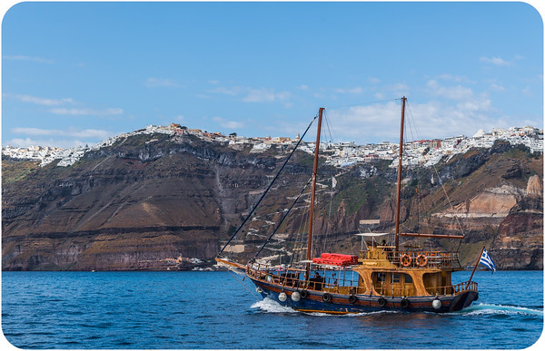 Aegean Sea/ Santorini