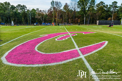 2016 10 14 CCS Football vs Creekside PINK OUT Game