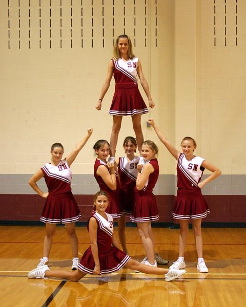 SN MS Cheerleading Team 06-07