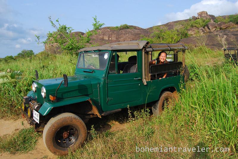 our jeep at Habarana Eco Park.jpg