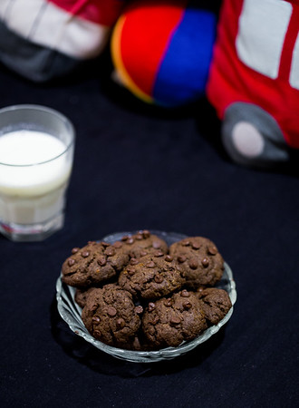 Chocolate Chip Butterless & Eggless Cookie