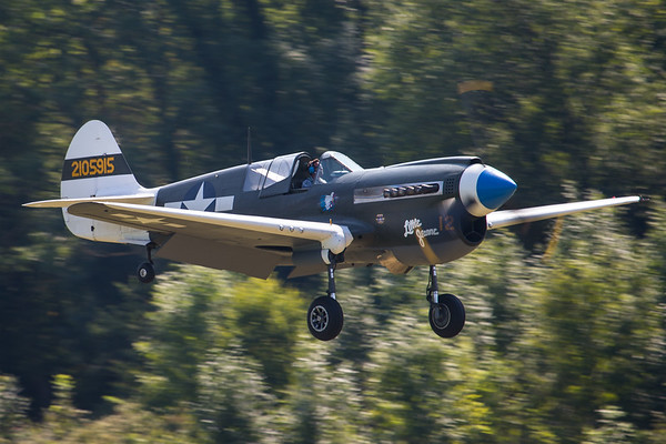 F-AZKU Curtiss P-40N Warhawk