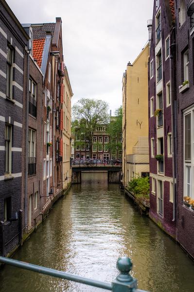 Typical Amsterdam Scene