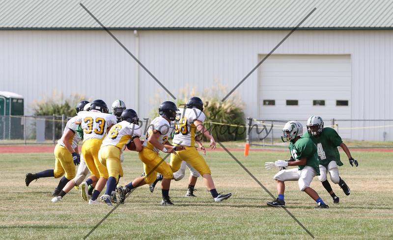 Eastern York 9th Grade Football vs Vo-Tech