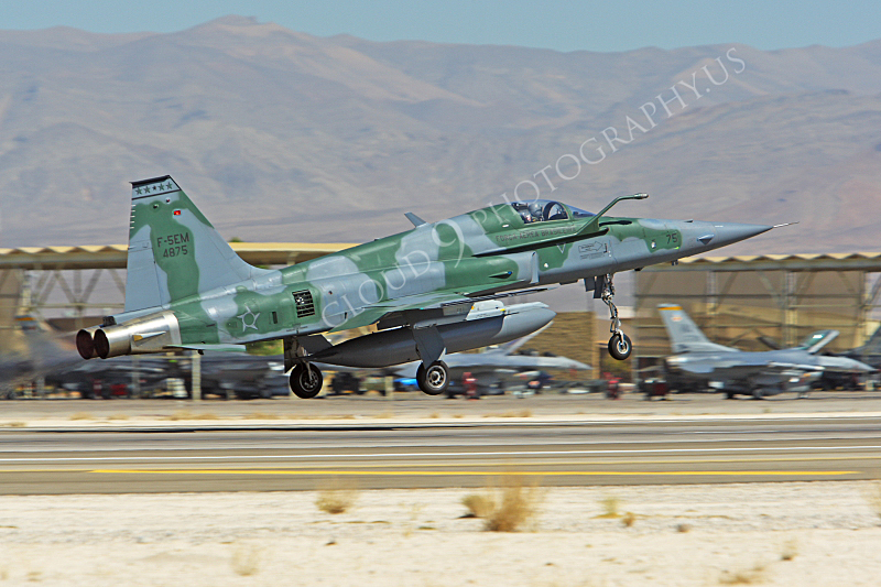 F-5FORG 00026 Northrop F-5EM Freedom Fighter Brazilian Air Force 4875 Nellis AFB by Peter J Mancus.JPG