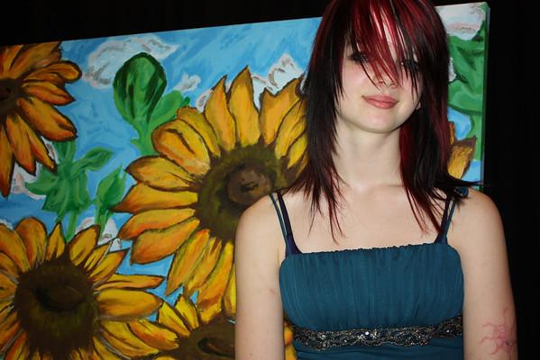 Anna Graduates from Hixson Middle 2010