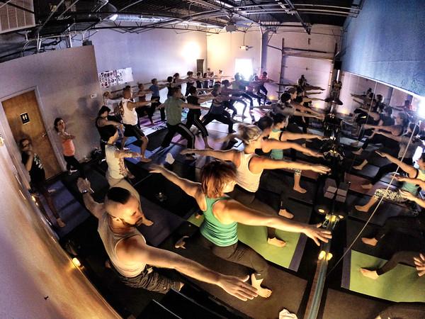 Thanksgiving Morning Yoga Class