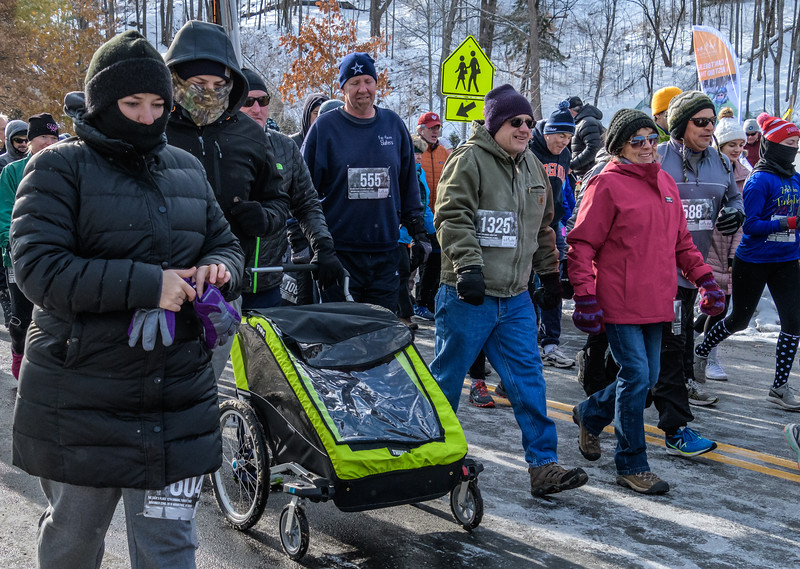 Walkers Endure Even More Time in the Cold