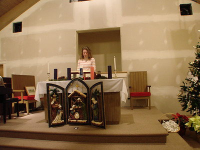 """Christmas Eve Candlelight Communion 2009, """"Unwrap the Gift of God Inside Your Heart"""""""