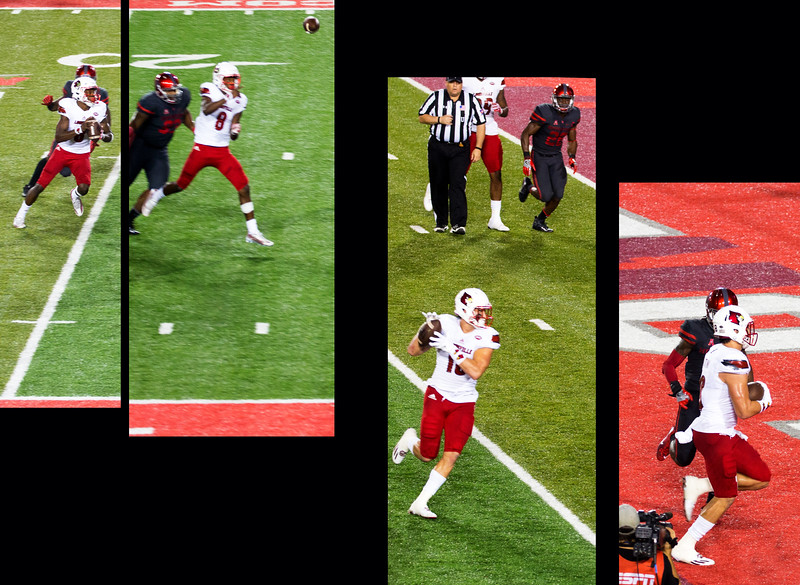 Jackson connects with Hikutini for UL's only Touchdown ...