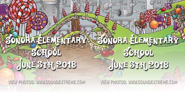 Sonora Elementary Grad Dance 2018
