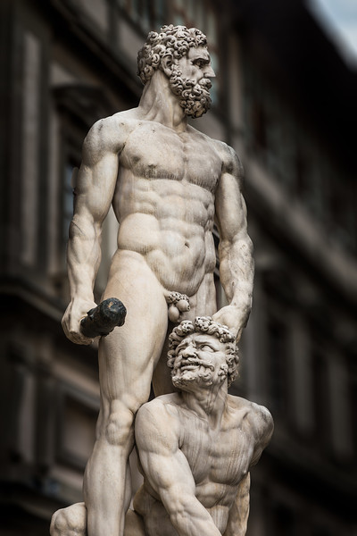 Hercules and Cacus, 1534