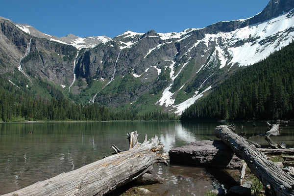 Glacier - Avalance Lake