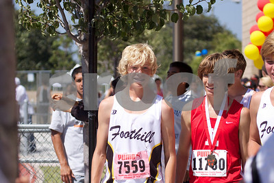 Foothill at Woodbridge cross country 2010