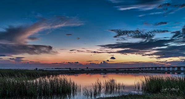 Sunrise Composite - San Luis Pass and El Jardine Beach