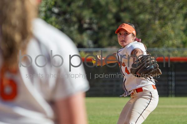 Oxy Softball vs CalLu 4-17-15