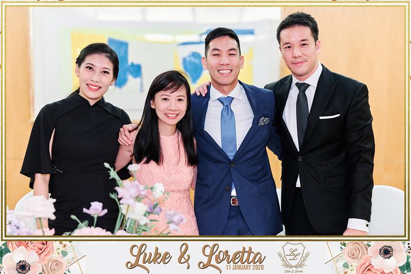 Wedding of Luke & Loretta   © www.SRSLYPhotobooth.sg