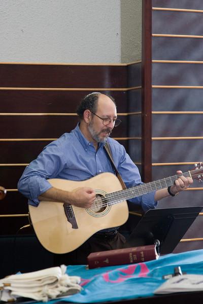 Scott Glick, guitar -- Siyum HaTorah -- Beth El's Project 613: Writing a Torah