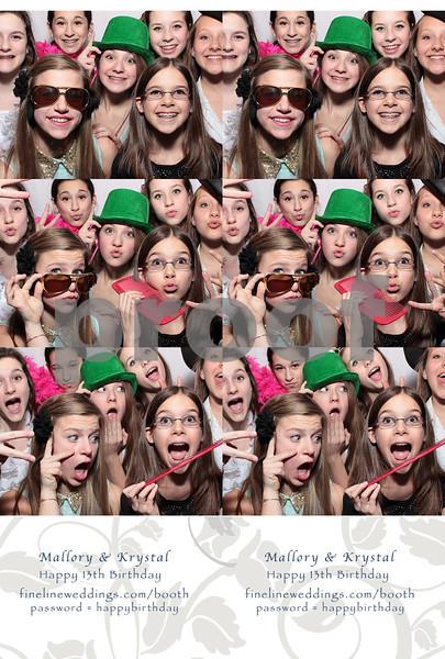 Mallory & Krystal's 13th Birthday - 3.29.14