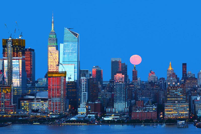 NYC Strawberry Full Moon