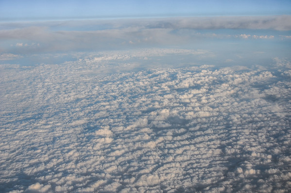 Clouds over Russia
